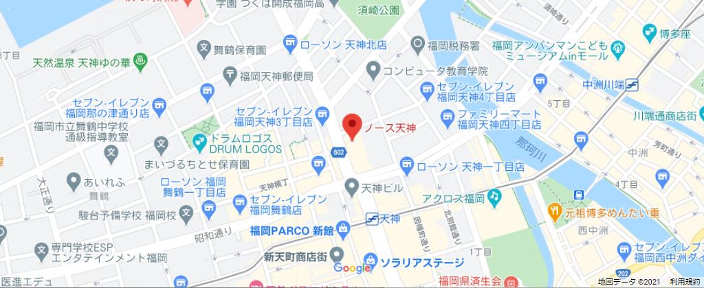 MAKEBODYの地図