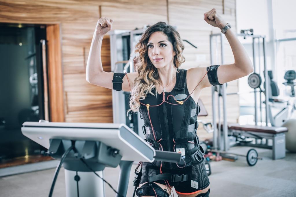 EMSトレーニング 女性
