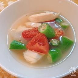オクラとトマトのコンソメスープ ダイエット