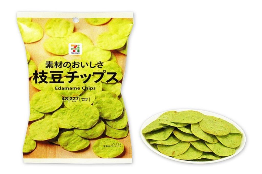 素材のおいしさ 枝豆チップス