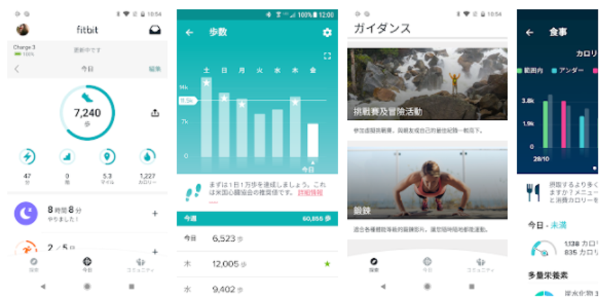 Fitbit ダイエットアプリ